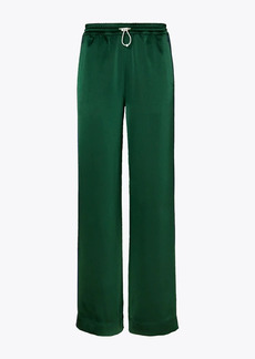 Tory Burch Satin Track Pants