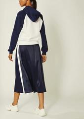 Tory Burch Satin Track Skirt