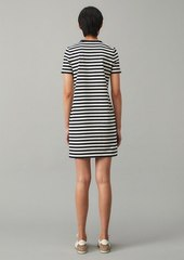 Tory Burch Striped Logo T-Shirt Dress
