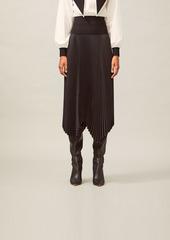 Tory Burch Sunburst Pleated Skirt