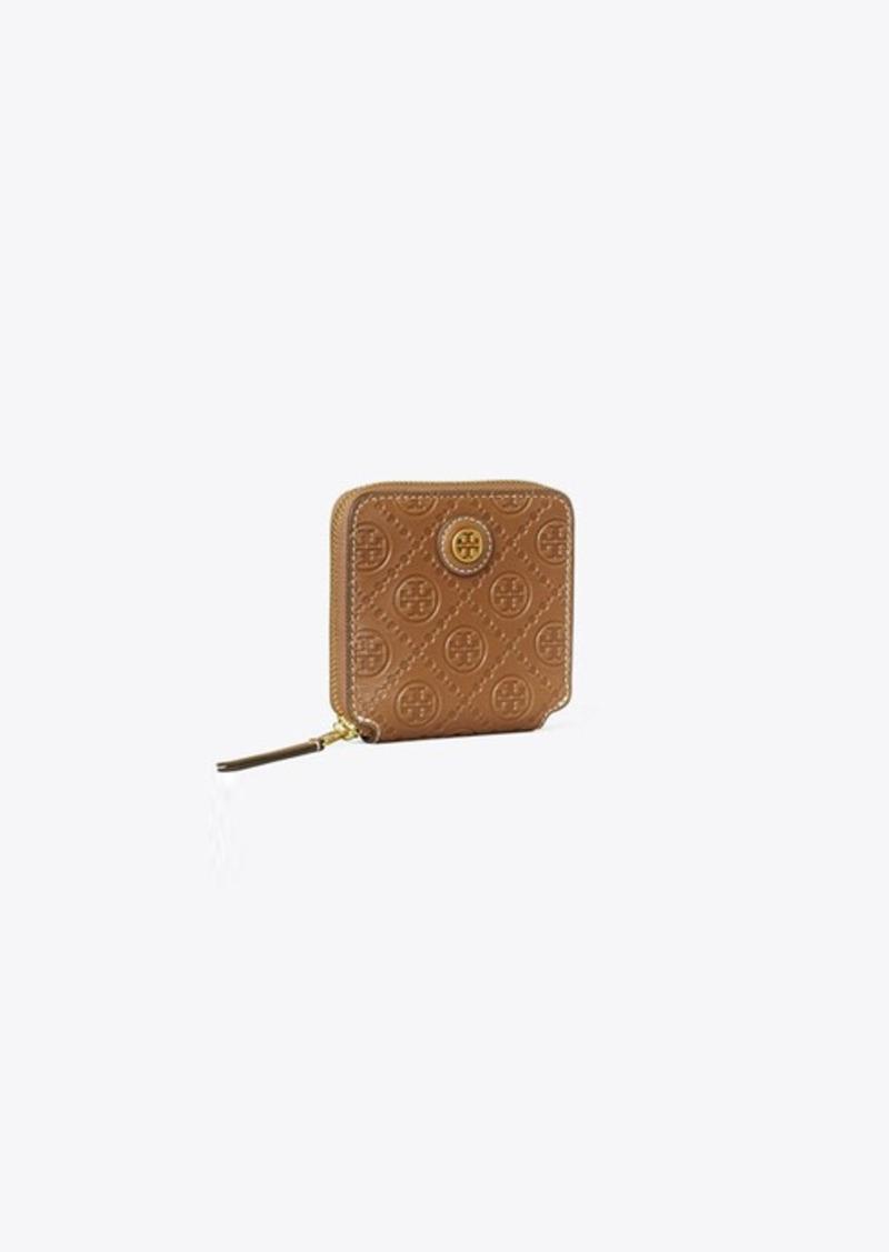 Tory Burch T Monogram Leather Bi-Fold Wallet