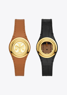 Tory Burch Miller Watch Gift Set, Multi-Color/Gold-Tone, 26 x 30 MM