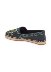 Tory Burch Beaded & Embroidered Canvas Espadrille (Women)
