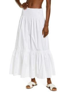 Tory Burch Cotton Poplin Convertible Skirt