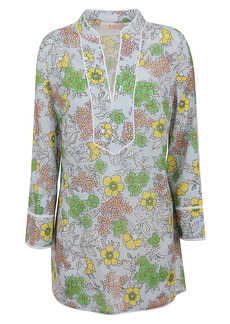 Tory Burch Floral Printed Tunic