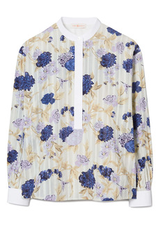 Tory Burch Floral Tunic Top