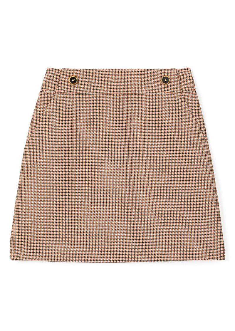 Tory Burch Houndstooth Miniskirt