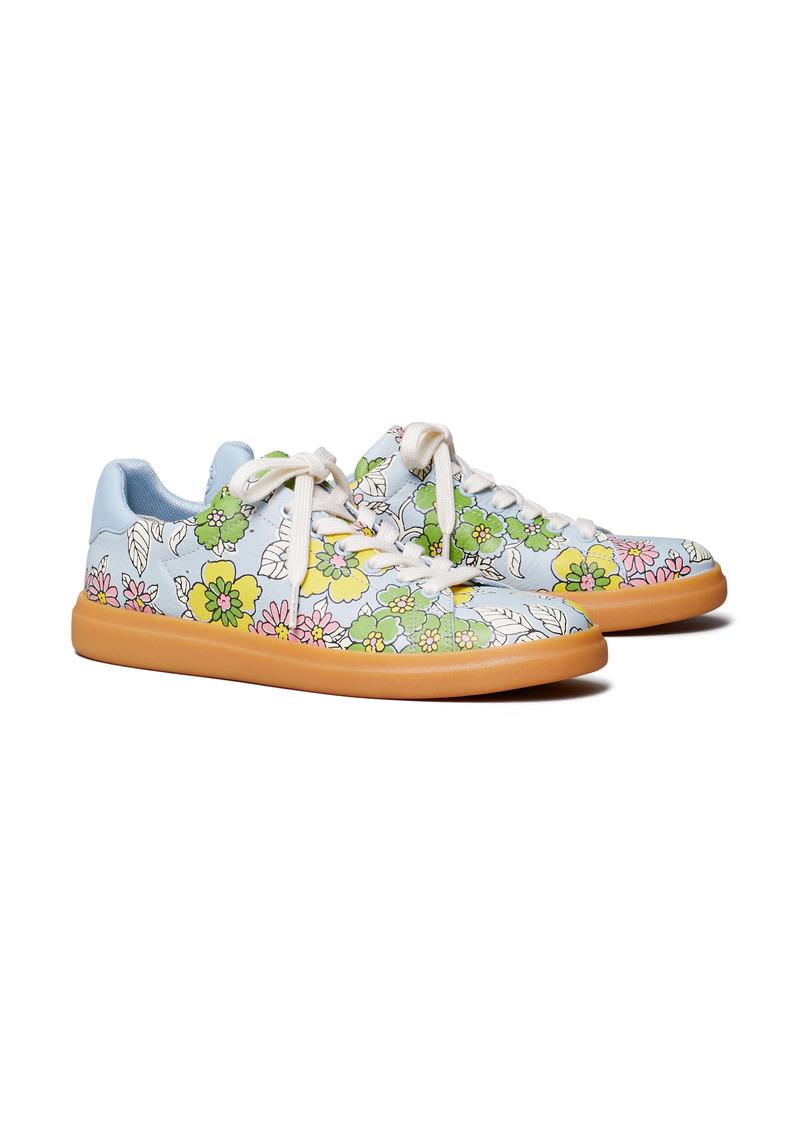 Tory Burch Howell Court Floral Sneaker (Women)