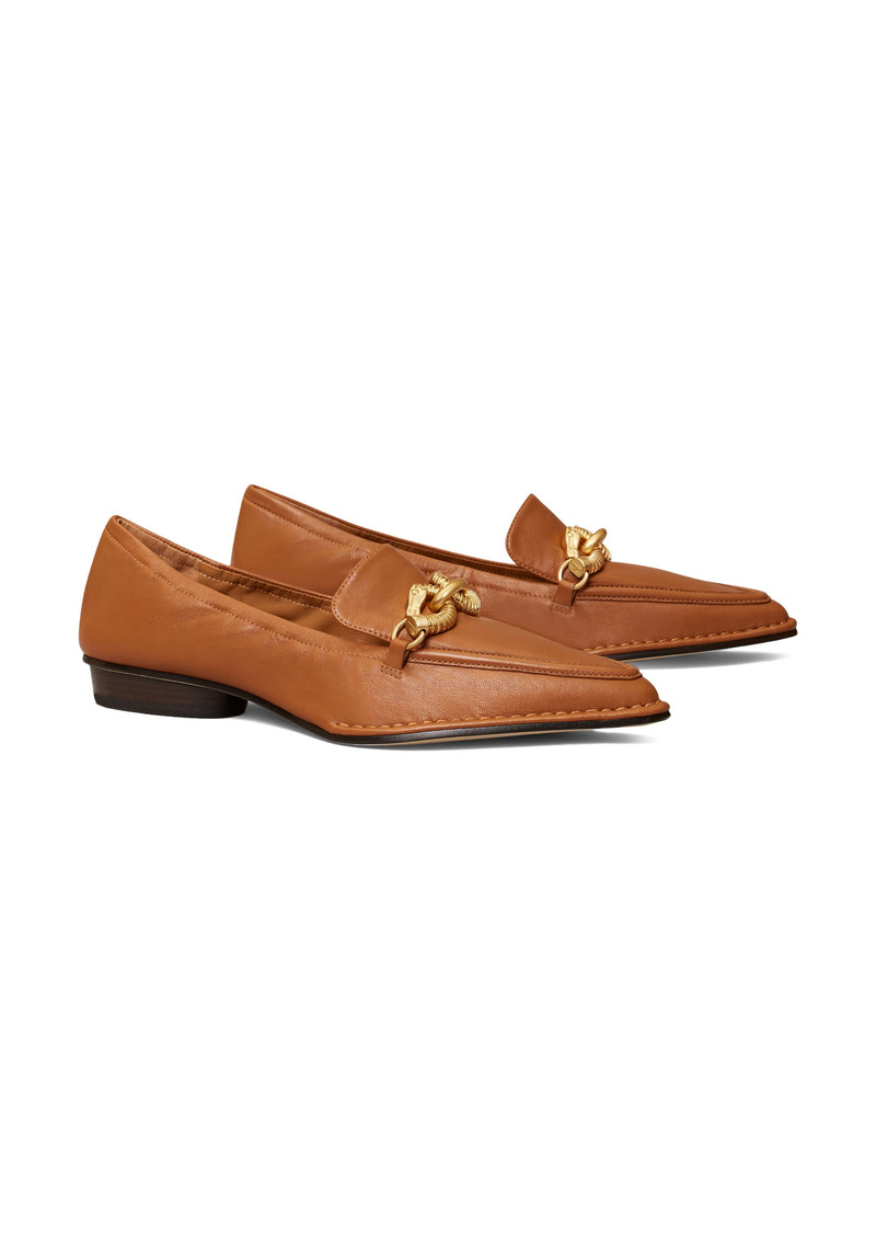 Tory Burch Jessa Pointed Toe Loafer (Women)
