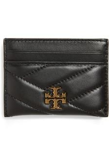 Tory Burch Kira Chevron Leather Card Case