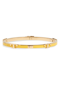 Tory Burch Kira Enamel Stackable Bracelet