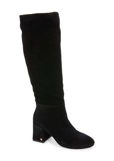 Tory Burch Kira Knee High Boot (Women) (Wide Calf)