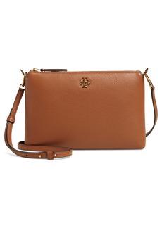 Tory Burch Kira Pebbled Leather Wallet Crossbody Bag