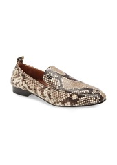 Tory Burch Kira Snake Embossed Stretch Travel Loafer (Women)