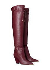 Tory Burch Lila Over the Knee Scrunch Boot (Women)