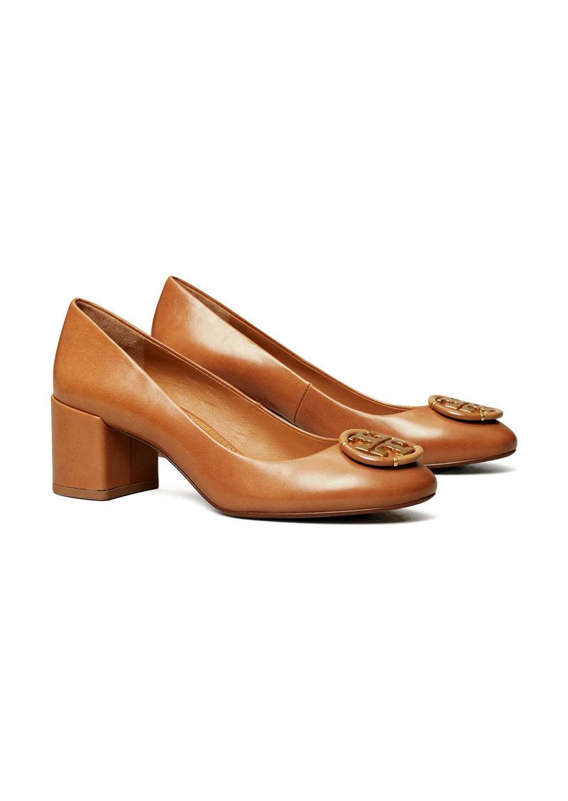 Tory Burch Logo Medallion Pump (Women)