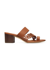 Tory Burch Tiny Miller Block Heel Sandal (Women)