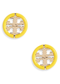 Tory Burch Miller Stud Earrings