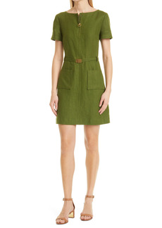 Tory Burch Nadia Linen Sheath Dress