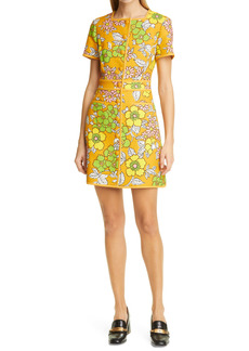 Tory Burch Nadia Wallpaper Floral Print Dress