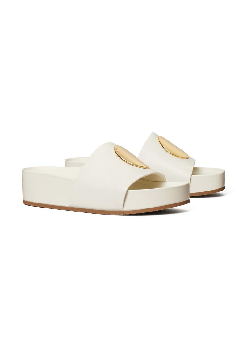 Tory Burch Patos Platform Slide Sandal (Women)