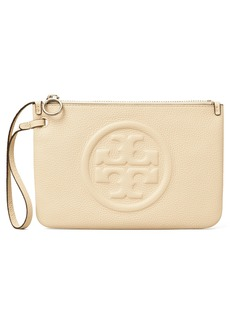 Tory Burch Perry Leather Wristlet