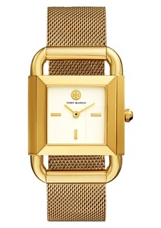Tory Burch Phipps Mesh Strap Watch, 29mm x 41mm