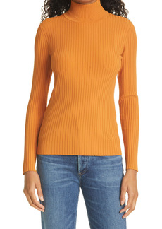 Tory Burch Ribbed Turtleneck