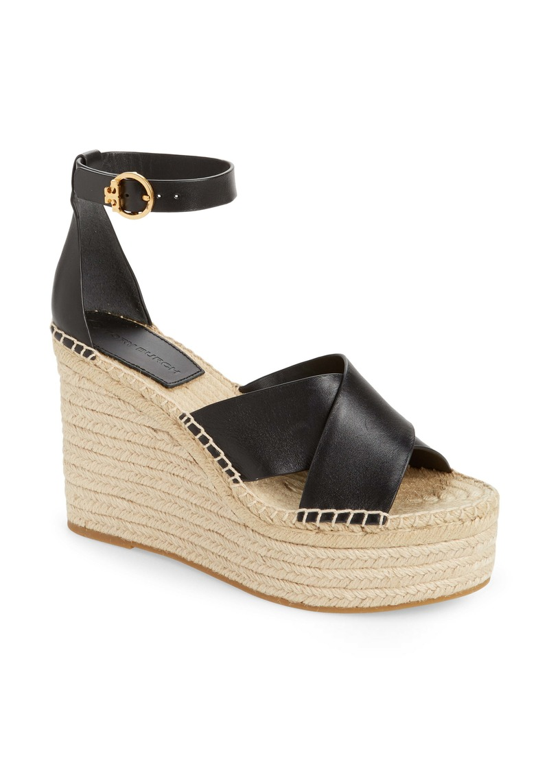 Tory Burch Selby Espadrille Wedge Sandal (Women) (Nordstrom Exclusive)