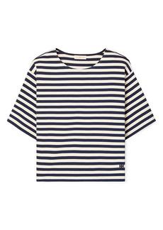 Tory Burch Stripe Cotton T-Shirt