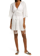 Tory Burch Stripe Cover-Up Tunic