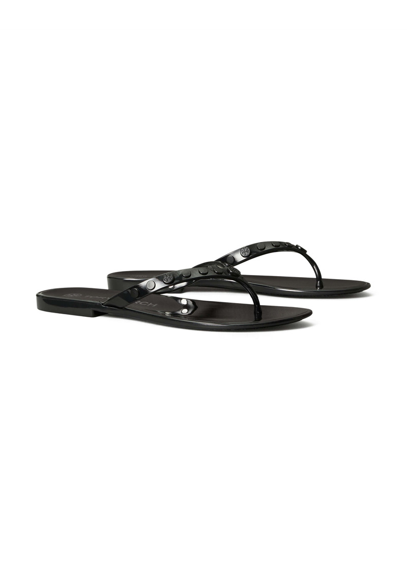 Tory Burch Studded Jelly Flip Flop (Women)