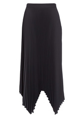 Tory Burch Sunburst Pleat Midi Skirt