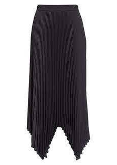 Tory Burch Sunburst Pleat Midi Skirt