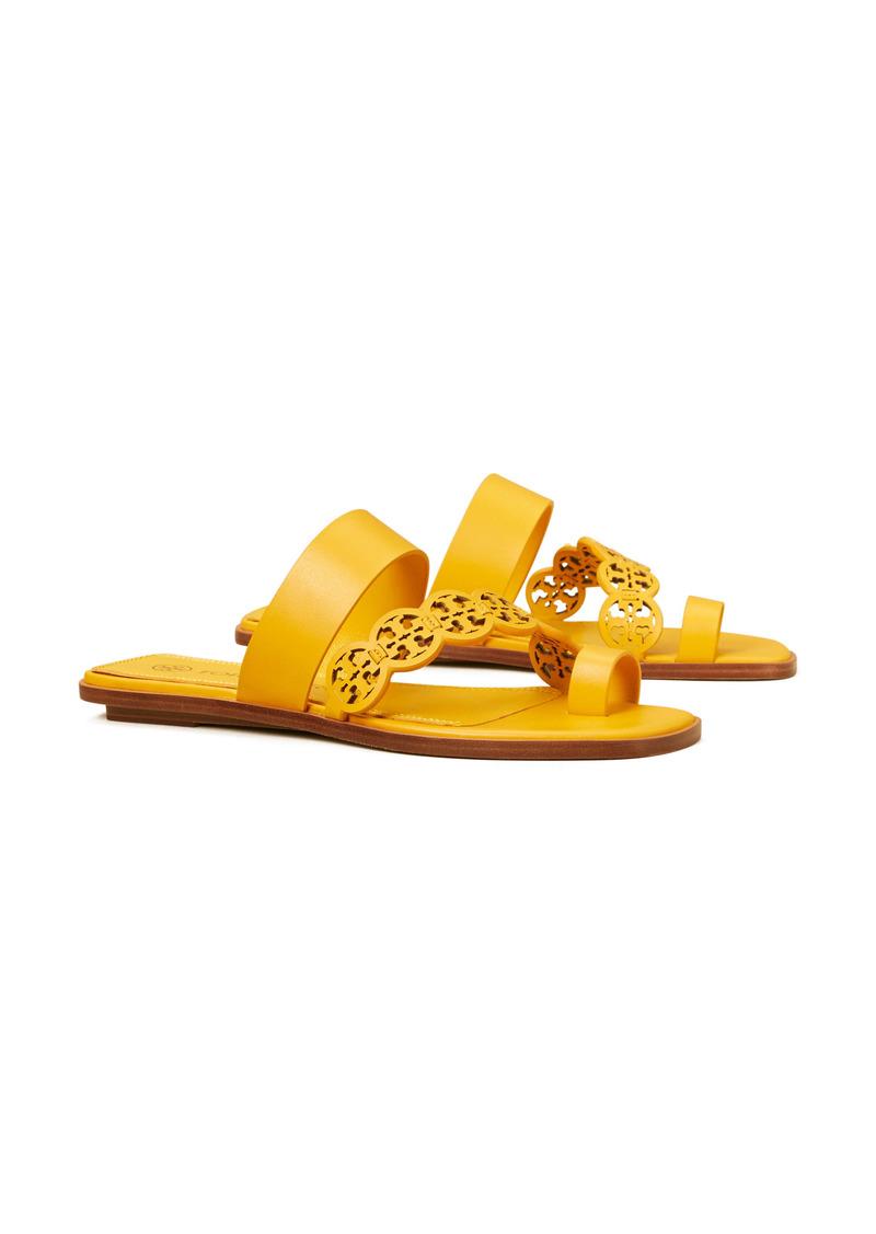 Tory Burch Tiny Miller Toe Ring Slide Sandal (Women)
