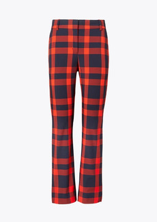 Tory Burch Yarn-Dyed Tech Twill Golf Pants
