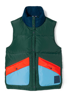Tory Sport by Tory Burch Colorblock Down Vest