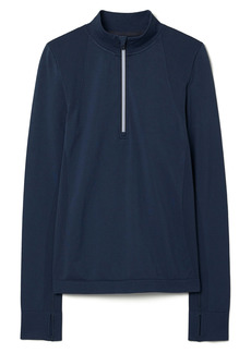 Tory Sport by Tory Burch Seamless Half Zip Pullover