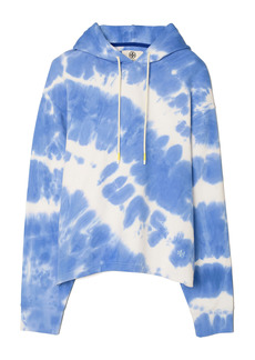 Tory Sport by Tory Burch Tie Dye French Terry Hoodie