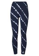 Tory Sport by Tory Burch Tie-Dye Seamless 7/8 Ankle Leggings