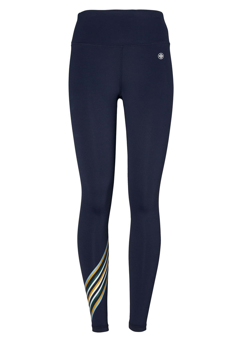 Tory Sport by Tory Burch Weightless High Waist Chevron Leggings