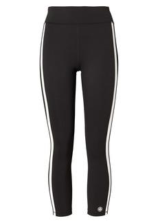 Tory Sport by Tory Burch Weightless Reflective Stripe 7/8 Leggings