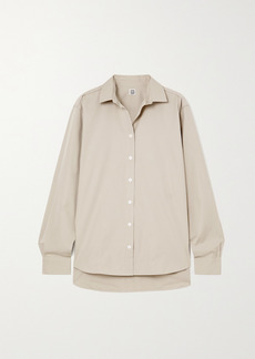 Totême Signature Cotton-poplin Shirt