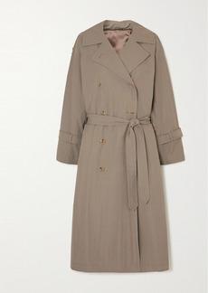 Totême Tech Cotton-blend Trench Coat