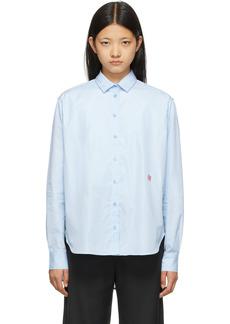 Totême Blue Cotton Signature Shirt
