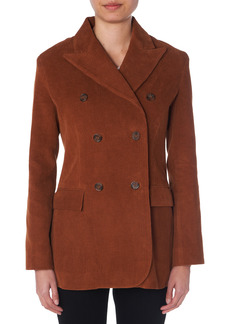 Women's Trave Elliot City Corduory Double Breasted Blazer