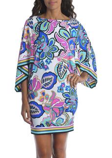 Trina Turk Mandalay Floral Print Cover-Up Tunic