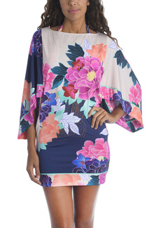 Trina Turk Opulent Oasis Cover-Up Tunic