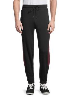 True Religion Colorblock Cotton-Blend Jogger Pants