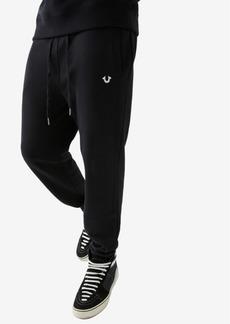 True Religion Men's Foil Horseshoe Jogger Sweatpants